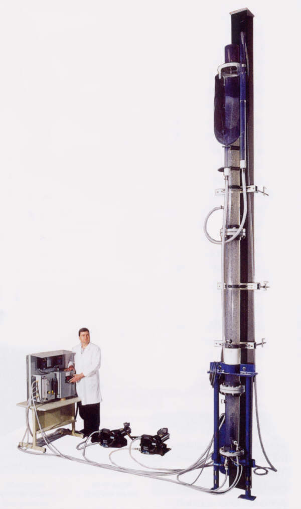 Laboratory Column Flotation Cell Sepor