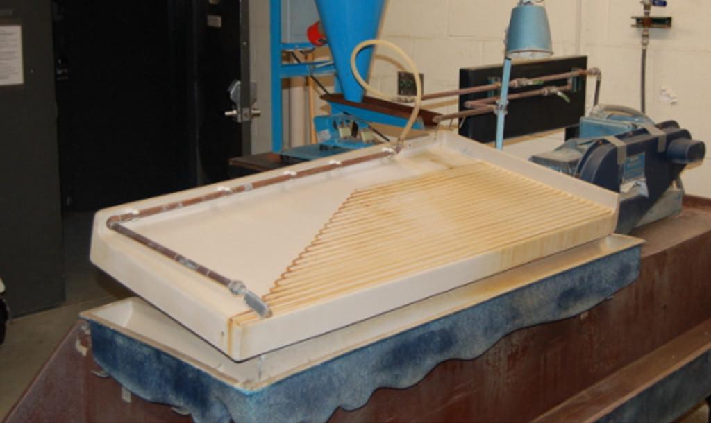 Wet Gravity Tables - Sepor