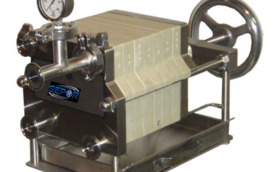 Lab Plate Frame Filter press 8 inch